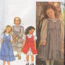 Simplicity Sewing Pattern 970 Sweet Dress and Over Jumper Size 3 - 6