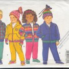 Butterick Sewing Pattern 3045 Kids Jacket, Pants and Hat good for fleece, Size 2 3 4