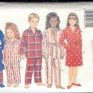 Butterick Sewing Pattern 3710 Robe and Pajamas, Size 7 8 10