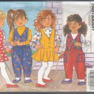Butterick Sewing Pattern 6372 Jumper and Jumpsuit with top, for sizes 5 6 6x