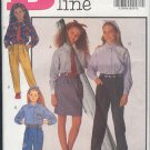 Butterick Sewing Pattern 6426 Pants, Skirt and Shirt with tie and headband, Sizes 12 14