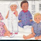 Butterick Sewing Pattern 6607 Jumpsuit in two lengths with cute hat, Sizes 12 - 21 lbs.