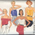 Butterick Sewing Pattern 3193, Five Camisoles, Size 8