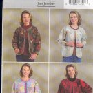 Butterick Sewing Pattern 4056 Patchwork Jacket by Just Jennifer, Sizes 6-14