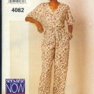 Butterick Sewing Pattern 4082 Top and Pants, Sizes 12 - 16