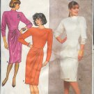 Butterick Sewing Pattern 4183 Top and Skirt with beautiful draped front, Size 8 - 12