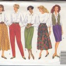 Butterick Sewing Pattern 5058 Three Skirts, Pants and Culottes, Size 6 - 10