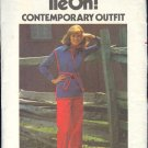 Butterick Sewing Pattern 5108 Tie On Top and  pants, Size 18