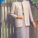 Butterick Sewing Pattern 5204 Classic Box Jacket over long sleeve dress, Size 8 -12