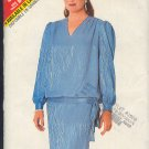 Butterick Sewing Pattern 5698 Blasoon top on straight skirt, Siex 14 - 18