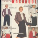 Butterick Sewing Pattern 6080 Jacket, Blouse, Skirt and Pants, Size 8 - 12