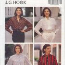 Butterick Sewing Pattern 6597 Classic Woman's Shirt by J.G. Hook, Size 6 8 10