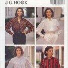 Butterick Sewing Pattern 6597 Classic Woman's Shirt by J.G. Hook, Size 6 8 10