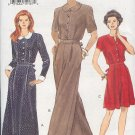 Vogue Sewing Pattern 8979, Dress and Jumpsuit with variations, Size 6 8 10