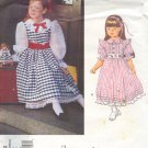 Vogue Sewing Pattern 1292 Fancy Girl's Dress by Madame Alexander, Size 5 6 6X