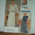 Vogue Sewing Pattern 2035 Two Blouses and full skirt by Tamotsu, Sizes 20 - 24