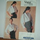 Vogue Sewing Pattern 2091 Blouses from Perry Ellis, Size 8 10 12