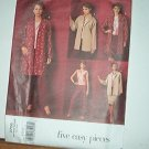 Vogue Sewing Pattern 2706 Skirt, Pants, Blouse and Jacket in two lengths. Size 8 10 12