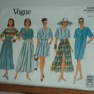 Vogue Sewing Pattern 2906 Dress, Top, Skirts, Shorts  and Pants, Size 8 10 12