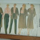 Vogue Sewing Pattern 7164 Coat Jacket Pants, Blouse, Skirt Belt. Size 16