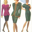 Vogue Sewing Pattern 8185 Dress and Jacket, Size 6 8 10