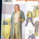 Simplicity Sewing Pattern Gorn, Pajamas, Robe, Sizes 4 - 20