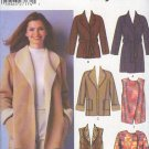 Simplicity Sewing Pattern 5300 Jacket and vest with lots of variations, Sizes 18 - 24