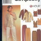 Simplicity Sewing Pattern 7007 Jacket, Camisole, Top, Pants and Skirt, Size 8 - 14