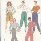Simplicity Sewing Pattern 7179 Pants in three lengths and short, Size 14