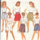 Simplicity Sewing Pattern 7845 Shorts with variations, Size 10 - 16