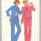 Simplicity Sewing Pattern 8200 Pants, Jacket with two hems, size 20