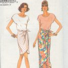 Simplicity Sewing Pattern, 8392 Top and Skirt in two lengths, Size 6-16