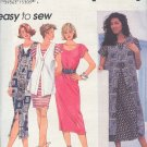 Simplicity Sewing Pattern 8972 Dress and Duster and vest top, size 6 8 10