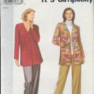Simplicity Sewing Pattern 9165 Jacket and Pants, Sizes 10 - 20
