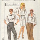 Simplicity Sewing Pattern 9166 Skirt, Pants and Shorts, Size 6  8 10