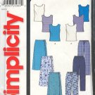 Simplicity Sewing Pattern 9781 Tops, Skirts and Pants, Sizes 8 - 18