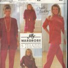 Simplicity Sewing Pattern 9862 Christie Brinkley, 5 Piece Wardrobe, Size 10 - 18