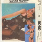 McCall's Sewing Pattern 8060 Swim Suit and Coverup SIze 10 12 14