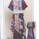 Sewing Pattern, Pieced N Patched Skirt and top, Sizes 8 - 22