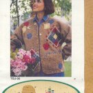 Sewing Pattern, Thread Bare Pattern, TBJ 96 Plush Felt Jacket, One Size