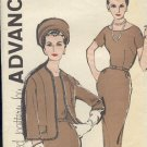 Vintage Sewing Pattern, Advance 9632 Dress and jacket  Size 14