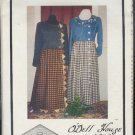 Sewing Pattern by O'Dell House, YoYo Dress, uses Jeans for bodice, Sizes S-L