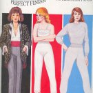 "Sewing Pattern, Perfect Fit, No Side Seam Pants, Sizes 19 - 44"" hip"