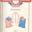 "Sewing Pattern, Mountain Sewin Patterns, Women's Fiberfill Vers, Sizes 36 - 48"" bust"