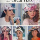 Butterick Sewing Pattern 6948, 13 hats, all sizes included
