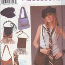 Simplicity Sewing Pattern 5308, Purses, hat, tie and CD holder by Teresa Nordstrom, One size