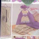 Simplicity Sewing Pattern, 5822, Personal accessory bags, Lingerie, large tote, One Size