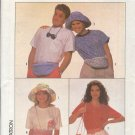 Simplicity Sewing Pattern 9135, Three Bags, two hats and two belts, All sizes included
