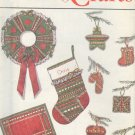 Simplicity Sewing Pattern 9034, Christmas ornaments, mat, wreath, napking, sox