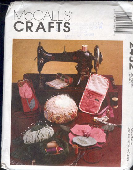 McCall's Sewing Pattern 2452 Sewing Accessories, One Size